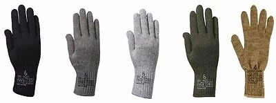 Wool Glove Liners GI Military Made in the USA Various Colors Rothco