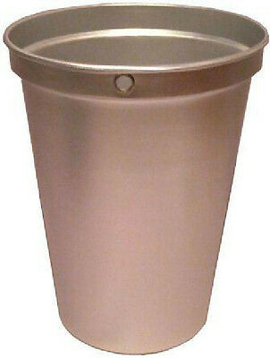 Tap My Tree 2 Gallon Aluminum Sap Bucket Only for Maple Sugar/Syrup Harvesting