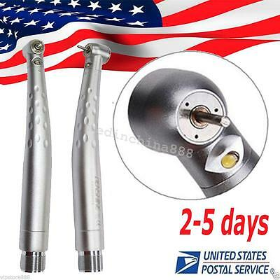 Dental LED High Speed Handpiece Standard Push Cartridge turbine fit NSK 2Hole【US