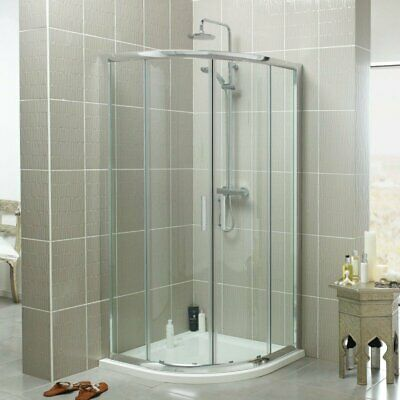 900mm Quadrant Enclosure pack-Including Pearlstone Shower Tray & fast flow waste