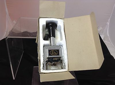 Vintage Antelope Auto Numbering Machine with Ink Bottle and original box