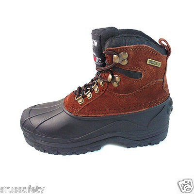Free Socks Giveaway Kingshow Mens Winter Snow Boots Leather Waterproof Warm 1280