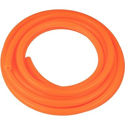 "20 feet of 3/8""(9.5mm) id Fast Flow Fuel Line ORANGE for Kart ATV Snowmobile PWC"