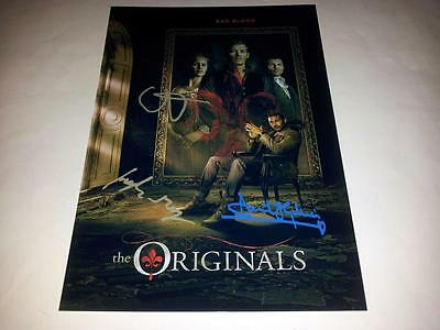 "The Originals Cast X3Pp Signed 12""x8"" Poster Vampire Diaries Joseph Morgan"
