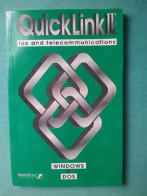 QuickLink II Fax and Telecommunications Book(Windows & DOS