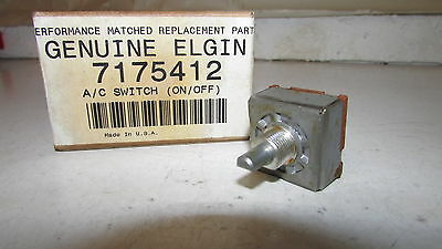 Elgin Indak 7175412 A/C On/Off Switch        ***  NEW * OEM * FREE SHIPPING  ***