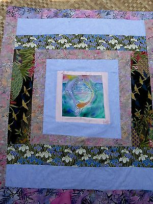 Baby quilts hand painted