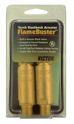 Excess Stock Oxygen Side Only Victor Torch Flashback Arrestor