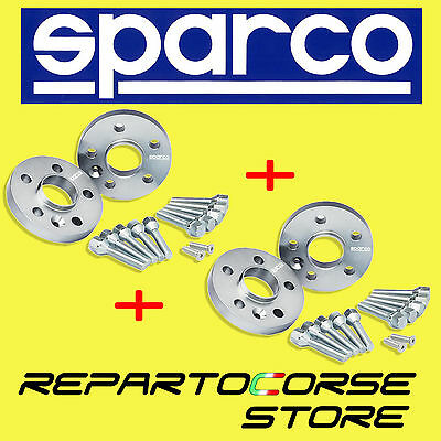 KIT 4 DISTANZIALI SPARCO 20 mm CON BULLONI - FIAT 500 ABARTH 595 160CV