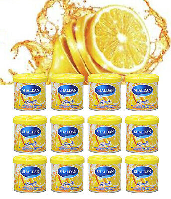 12 CAN (1 BOX) JDM MY SHALDAN Lemon Scent Air Freshener (D41LE) 80gr/2.82oz/can