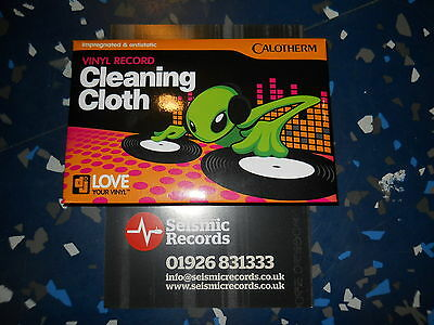 "Calotherm Vinyl Record Cleaning Cloth Impregnated & Antistatic 9"" X 11.5"""