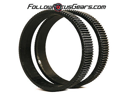 Seamless Follow Focus/Zoom Gear Ring Set for Canon EF 24-70mm f2.8 L USM II Lens