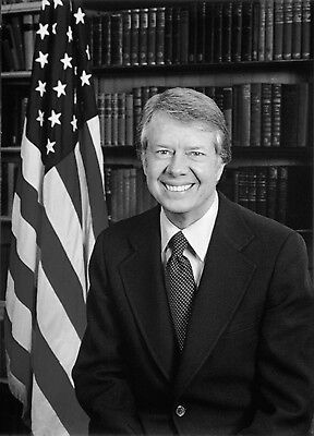 Us President Jimmy Carter 8X10 Glossy Photo Picture Image #3