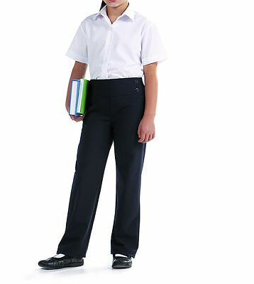 *GIRLS pull-on QUALITY KIRBY Trouser-BY BANNER-Deep waist band-ELASTICATED BACK*