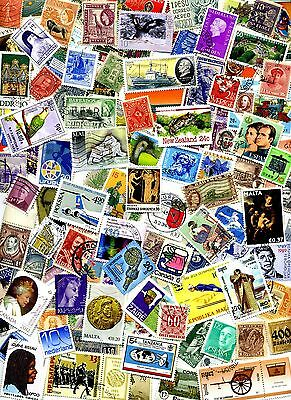 WORLDWIDE Stamp Mixture OFF PAPER From Hoard of MILLIONS - BONUS Offer!