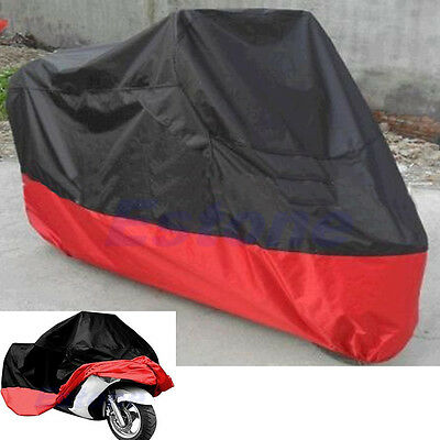 Waterproof UV Protective Scooter Rain Breathable Street Bikes Motorcycle Cover