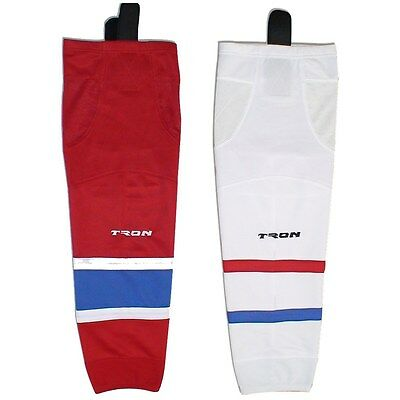 "Montreal Canadiens Hockey Socks Dry Fit Edge Inspired Colors 24"" or 30"" SK300"