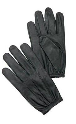 3450 Rothco Black Ultra Thin Leather Police Duty Search Gloves