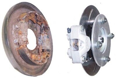 High Lifter Products Front Disc Brake Conversion Kit for Honda HLHONDB-1 HLDISC