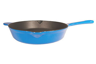 Enameled Cast Iron Black Skillet 8 Inches, Close Out!