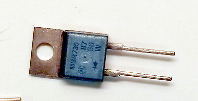 MBR735 - Schottky Barrier Diode 7.5A 35V - (LOT OF 25) - TO-220AC / Motorola