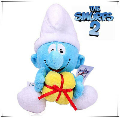Jokey Smurf 42Cm The Smurfs Plush Doll Kid Soft Bear Collection Stuffed Toy Gift