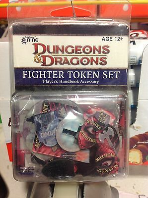 D&D Dungeon and Dragons FIGHTER Token Set - Manuale del giocatore