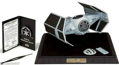 STAR WARS DARTH VADER TIE FIGHTER replica 1:38 with display-case Code 3 Ltd 5000