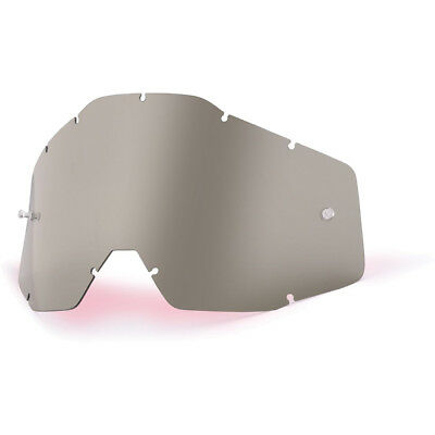 100% Percent Goggles Mx Gear RaceCraft, Accuri & Strata Lense Smoke Grey Lens