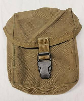 - USMC INDIVIDUAL FIRST AID POUCH  COYOTE BROWN USGI