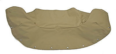Porsche 356 Convertible D Or Roadster Boot Cover In Tan