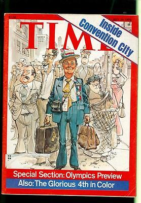 1976 Time Magazine: Inside Convention City/Olympics Preview/The Glorious 4th