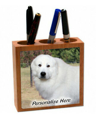 Great Pyrenees    ( 1 )   Personalized  Pencil and Pen Holder