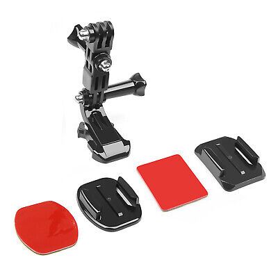 SHOOT Adjustable Helmet Front Adhesive Mount Set Screw for Gopro Hero 6 5 4 3+