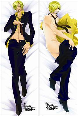 Anime Dakimakura pillow case NK048 ONE PIECE Sanji