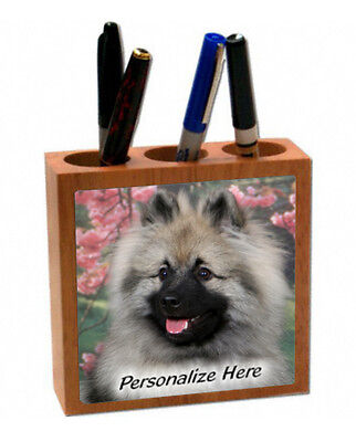 Keeshond   ( 5 )   Personalized  Pencil and Pen Holder