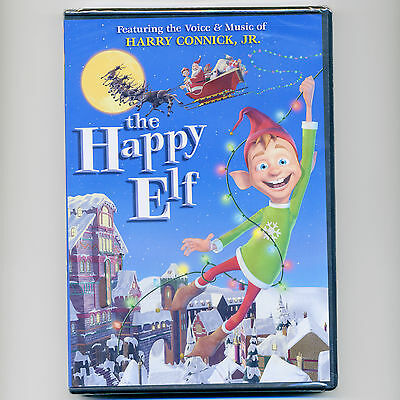 Happy Elf 2005 family animated musical Christmas movie, new DVD Harry Connick Jr