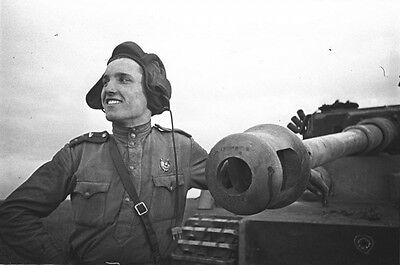 WWII Photo German Tiger I Kill Eastern Front WW2 World War Two Wehrmacht / 4035