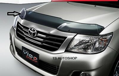 Black Bug Insect Shield Guard For New Toyota Hilux Vigo Champ 2012 Genuine Parts