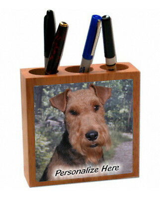 Lakeland Terrier    (1 )  Personalized  Pencil and Pen Holder