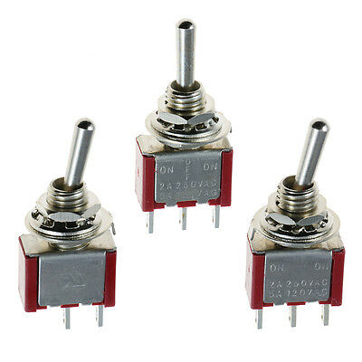 Mini Miniature Toggle Switch Car Dash Boat SPST SPDT