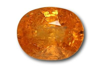 Grenat Spessartite Mandarin naturel 2.09 carats orange