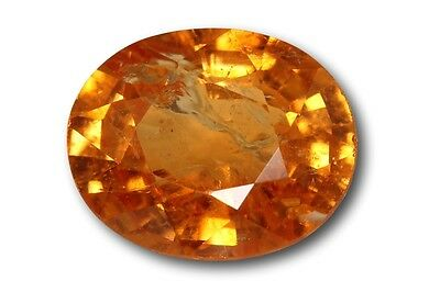 Grenat Spessartite Mandarin naturel 2.26 carats orange