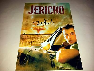 "Jericho Pp Signed 12"" X 8"" Poster Skeet Ulrich"