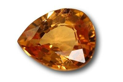 Grenat Spessartite Mandarin naturel 0.69 carat orange