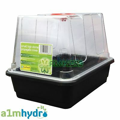 Garland Small High Dome Seed Cuttings Propagator Shatter Resistant Hydroponics