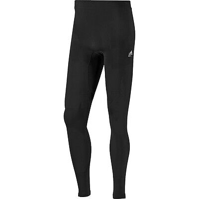 Mens Adidas Techfit Compression Running Tights - Extra Large - Black.