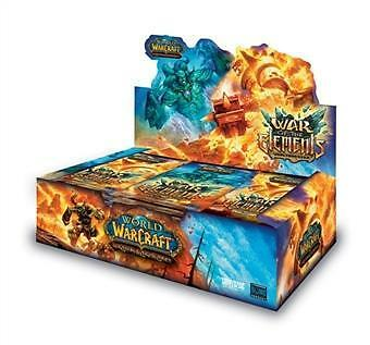 Wow - War Of The Elements - 36 Buste - Ita - Box New Sealed - Warcraft