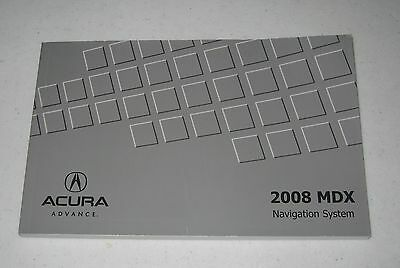 2008 mdx owners manual