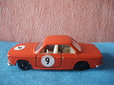460 I Efsi 407 Bmw 2000 Cs Rally N°9 Coupe Orange 1/64